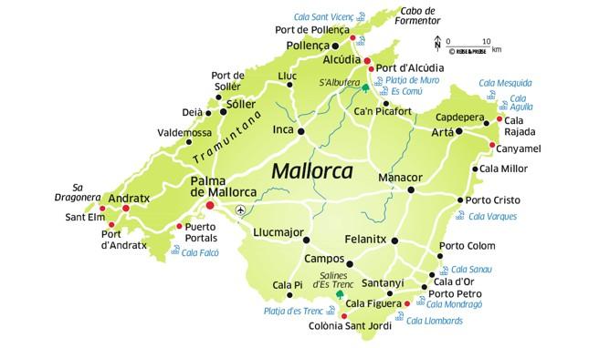 Mallorca Karte 1 2015 Anita Alexandra Hofmann